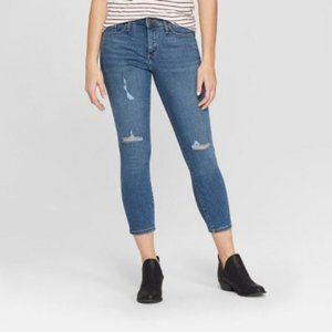 Universal Thread High Rise Skinny Crop Jeans